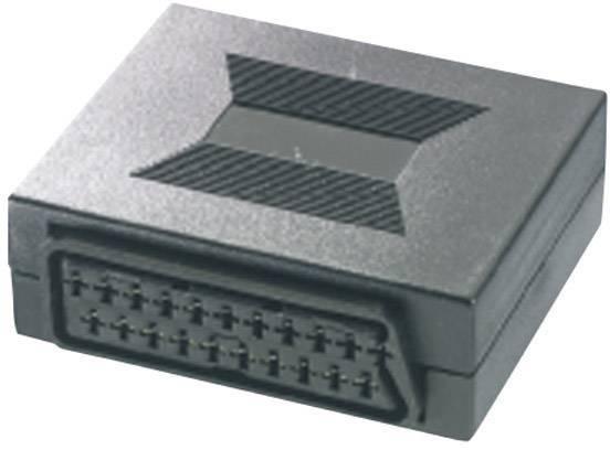 SCART TV, prijímač adaptér SpeaKa Professional SP-1300840, 0 m, čierna