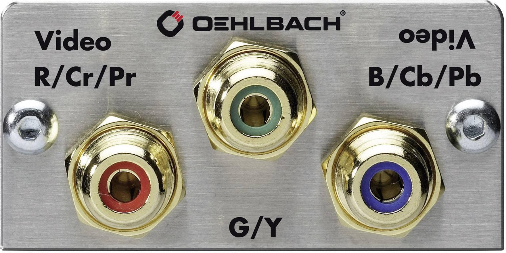 Komponenty PRO IN Oehlbach, s připojovacími kabely