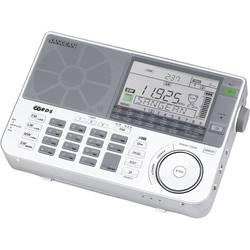 N/A Sangean ATS-909 X, AUX, strieborná