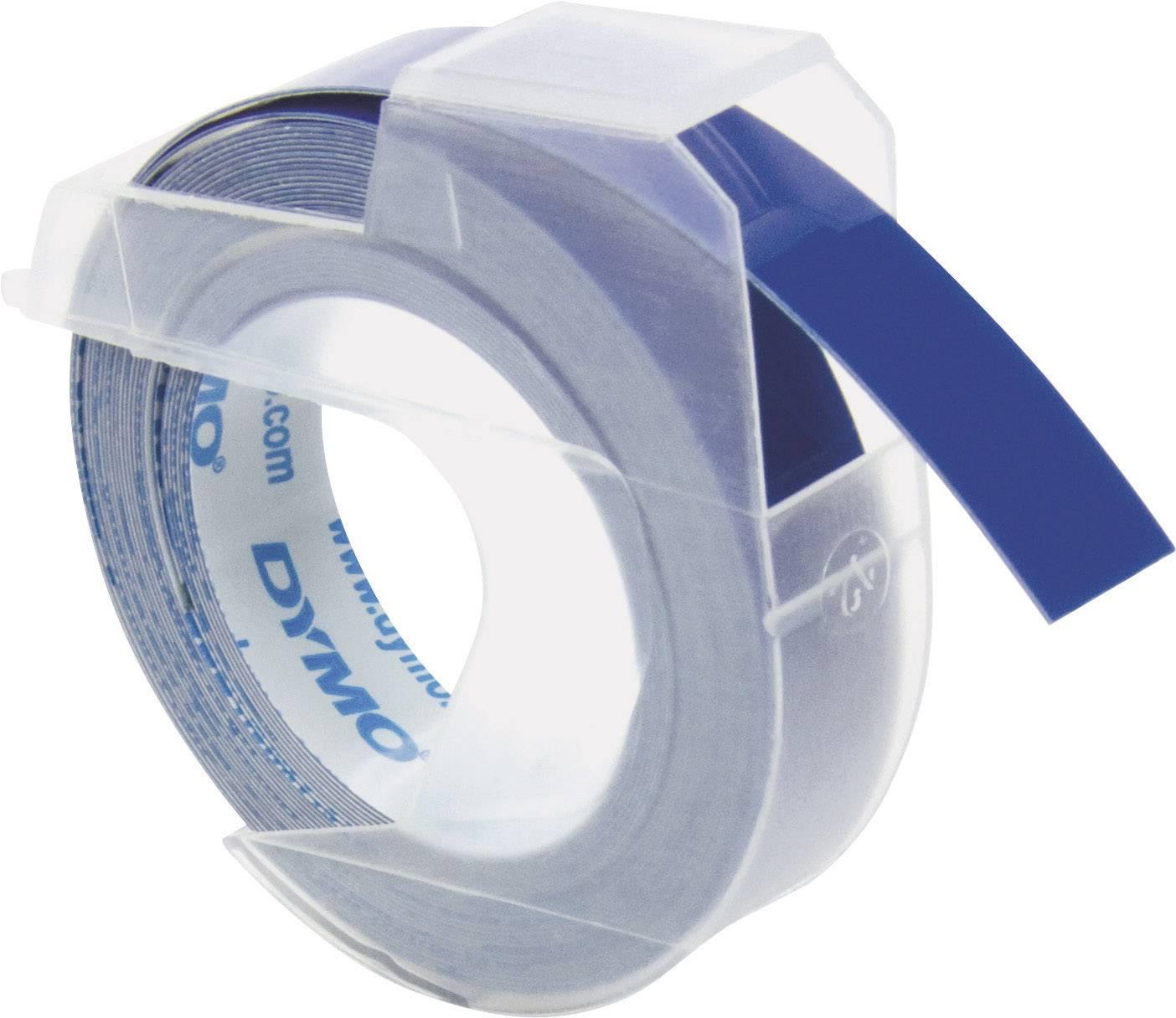 Páska do štítkovača DYMO S0898140, 9 mm, 3 m, biela, modrá