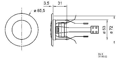 Stropný reproduktor Visaton série DL