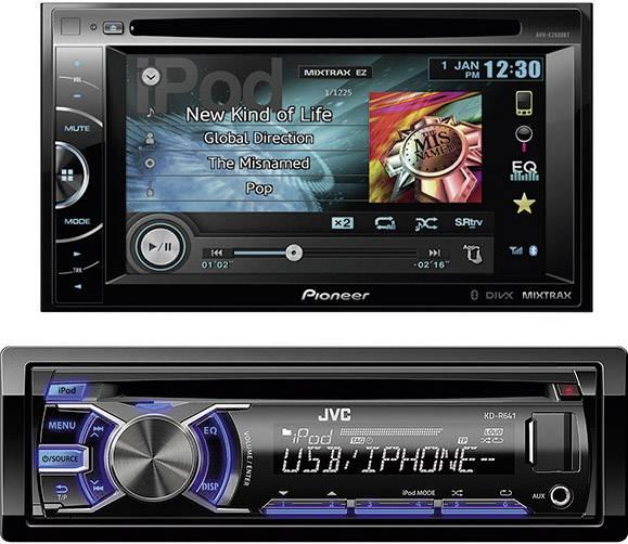 Autorádio s CD, MP3, USB, SD