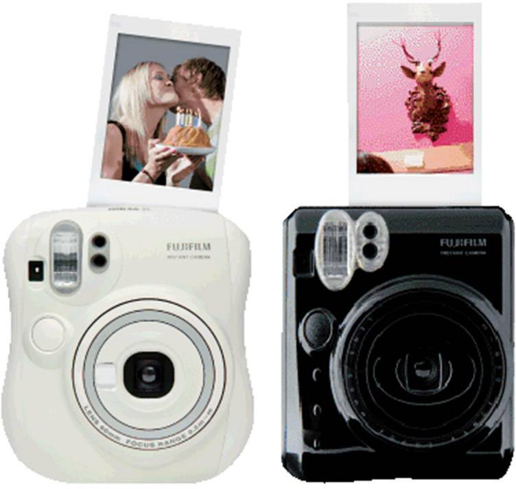 Instantné fotoaparáty a tlačiarne