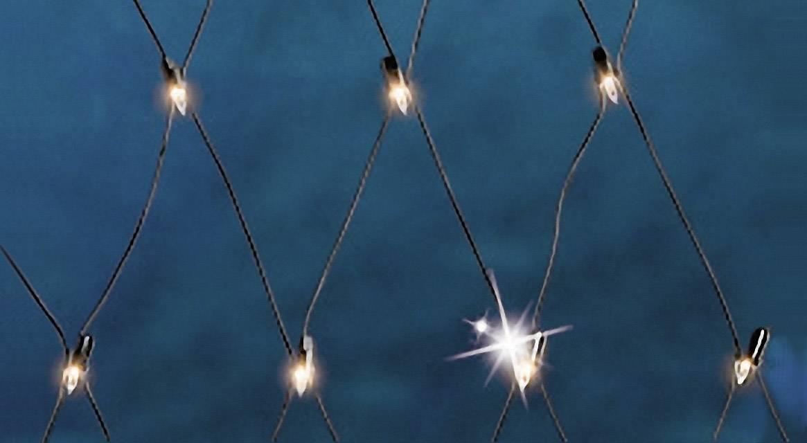 Světelné závěsy, světelné sítě