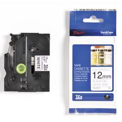 Páska do štítkovače Brother TZ-N231, 12 mm, TZe, TZ, 8 m, černá/bílá