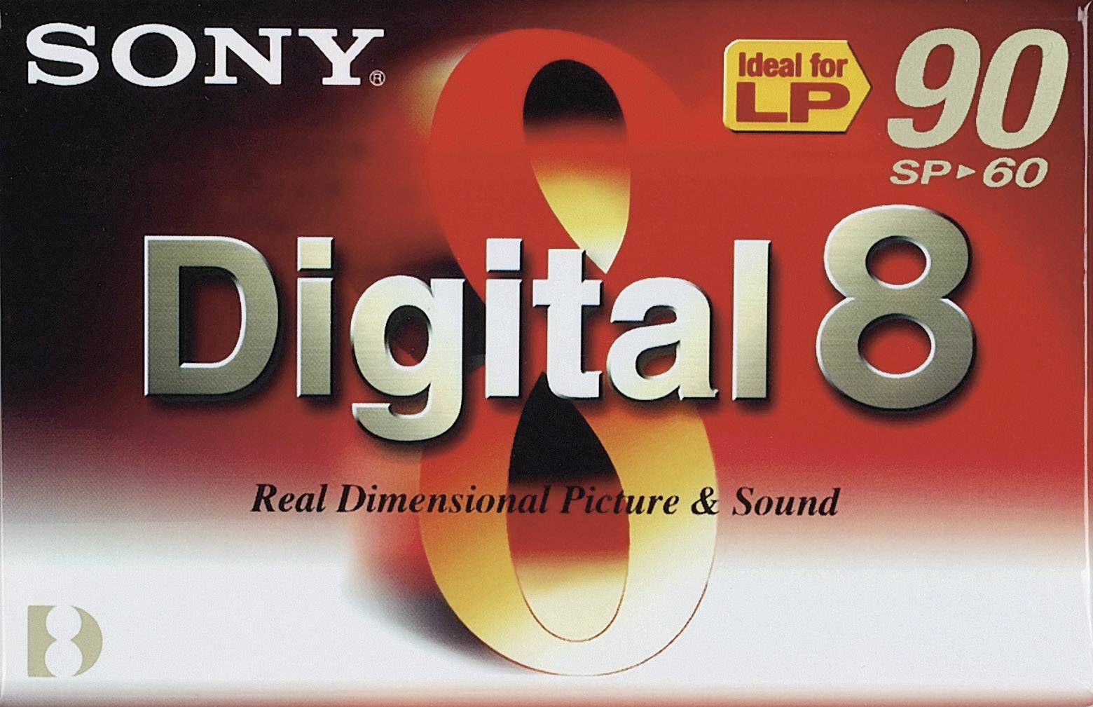 Videokazeta Digital8 Sony N8-60P, 60 min