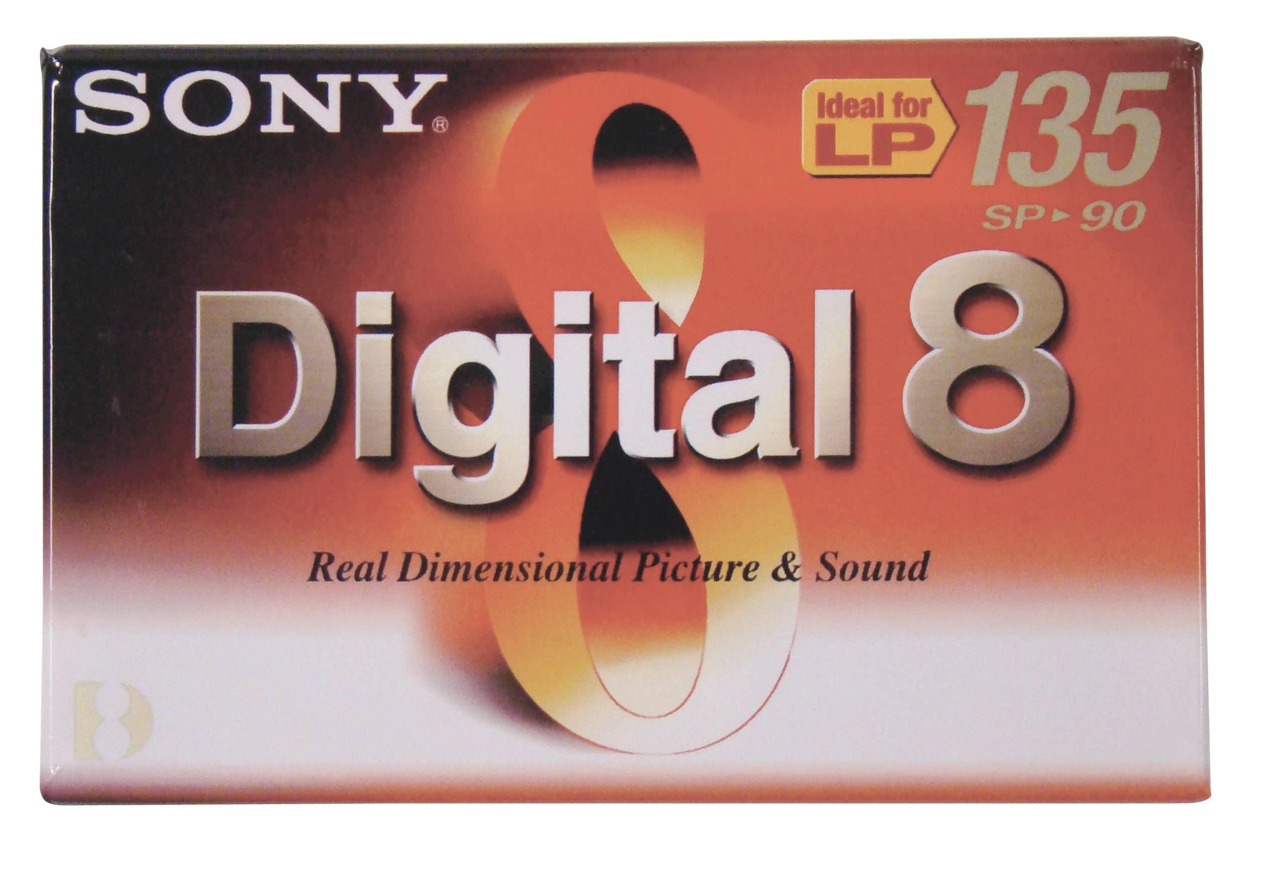Kazety Digital8