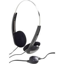 Slúchadlá On Ear Basetech CD-1000VR BT-341802, čierna