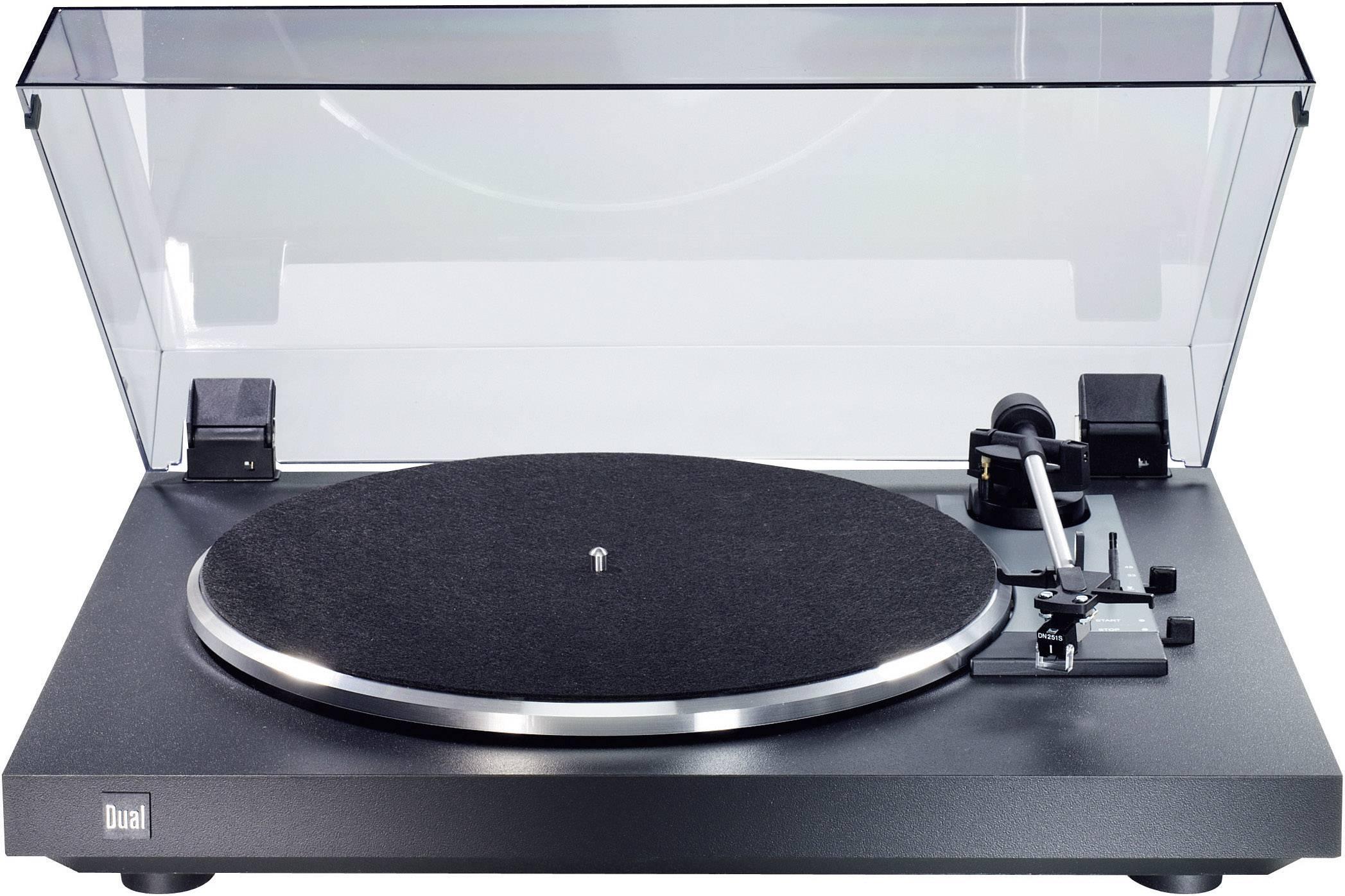 Gramofon Dual CS 415-2, řemínkový pohon, černá