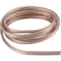 Reproduktorový kabel AIV 23405T, 2 x 2.50 mm², transparentní, metrové zboží