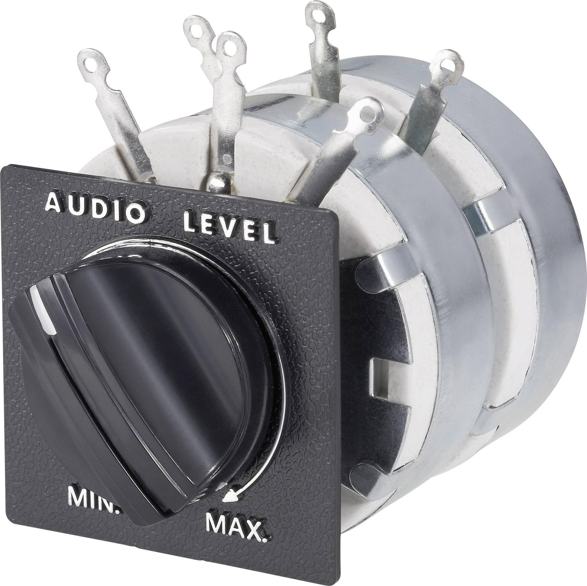 Ovládač výkonu stereo reproduktorov