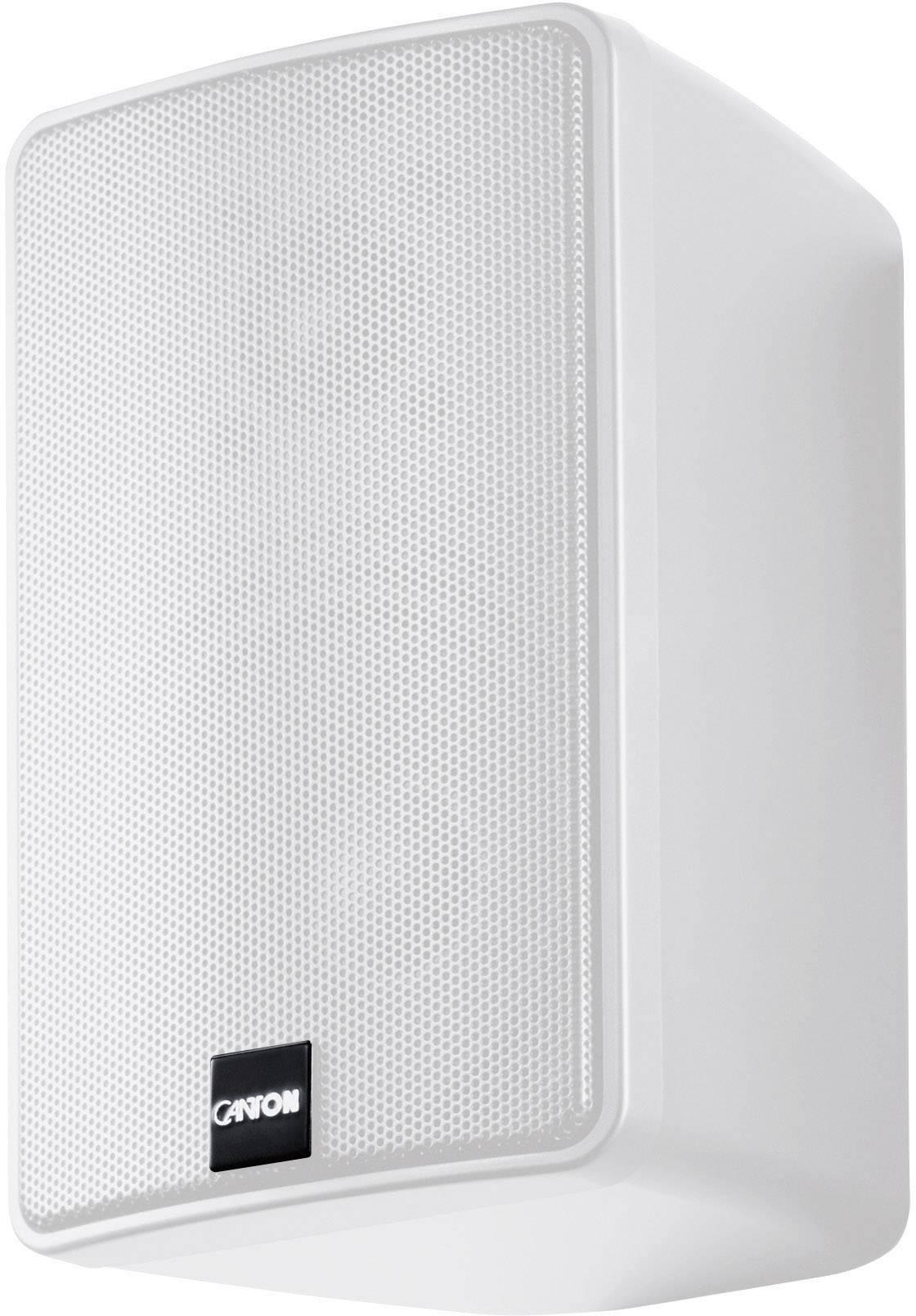 Regálový reproduktor Canton Plus GX.3, 45 - 26000 Hz, 100 W, 1 pár, biela