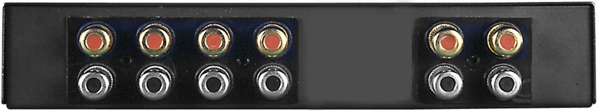 Prepínač reproduktorov SpeaKa Professional SPC-5 HQ, s 2 portmi, čierna