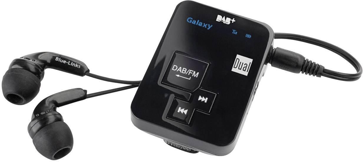 DAB+ vreckové rádio Dual DAB Pocket Radio 2, DAB+, UKW, FM čierna
