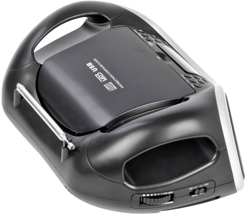 DAB+ a FM rádio s CD/MP3 prehávačom a USB, Dual DAB-P 100