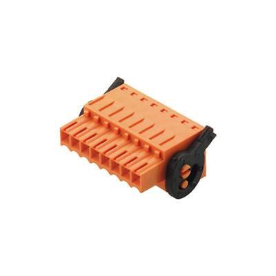 Zásuvkový konektor na kabel Weidmüller BLZF 3.50/05/180LH SN OR BX 1691600000, 24.00 mm, pólů 5, rozteč 3.50 mm, 50 ks
