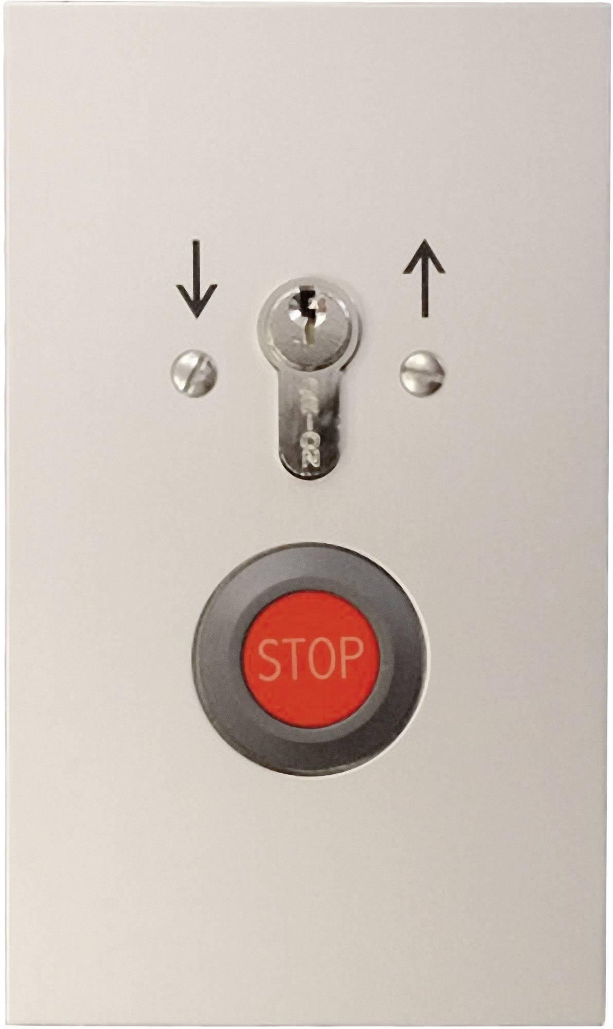 Kľúčový spínač pre pohon brány so STOP tlačítkom Kaiser Nienhaus 322210, pod omietku