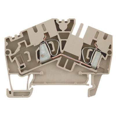 Z-series, Component terminal, Feed-through terminal, Rated cross-section: ZDU 4-2/2AN/D Weidmüller Množství: 100 ks