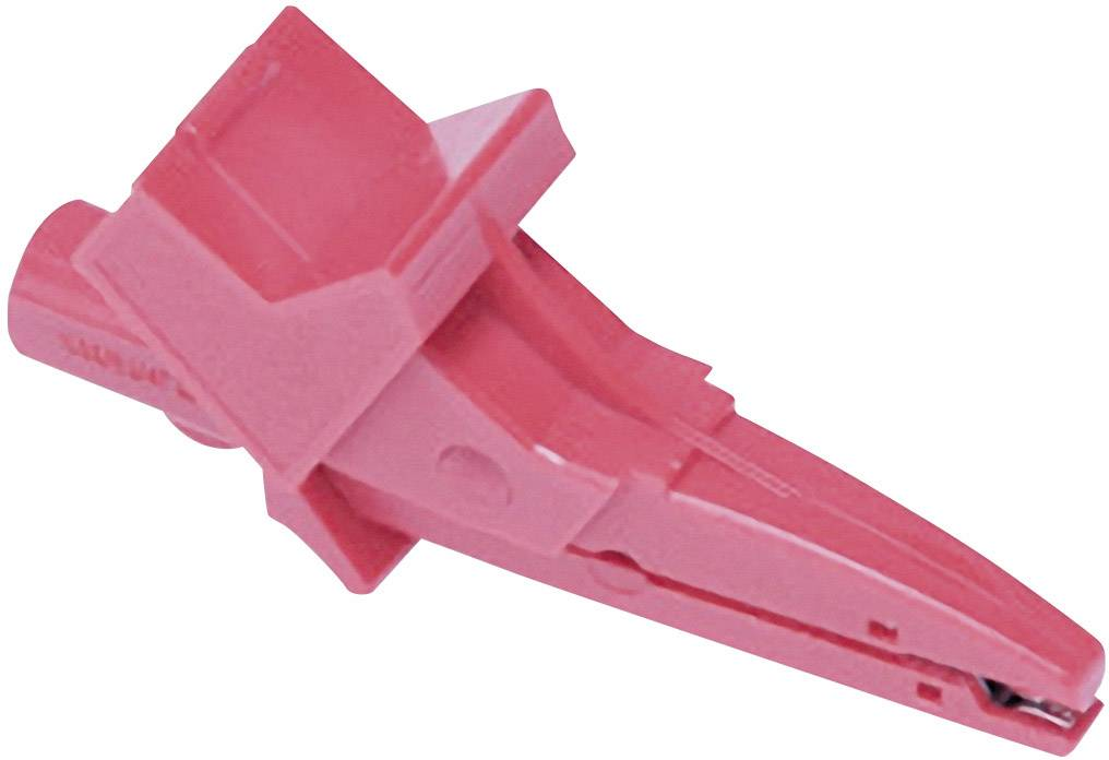 Krokosvorka červená Metrel A 1064 20991908 vhodná pro revizní přístroje řady MI