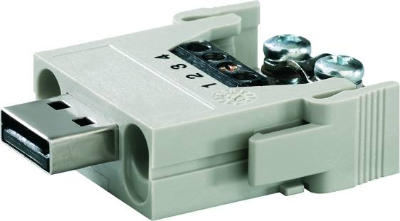 Heavy Duty Connectors, HDC insert, ConCept module Weidmüller HDC CM BUS 4SS, 5 ks