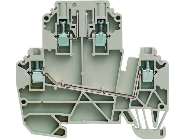 W-Series, Test-disconnect terminal, Rated cross-section: 2,5 mm², Screw connection WDK 2.5/TR-DU/O TNHE Weidmüller Množství: 50 ks