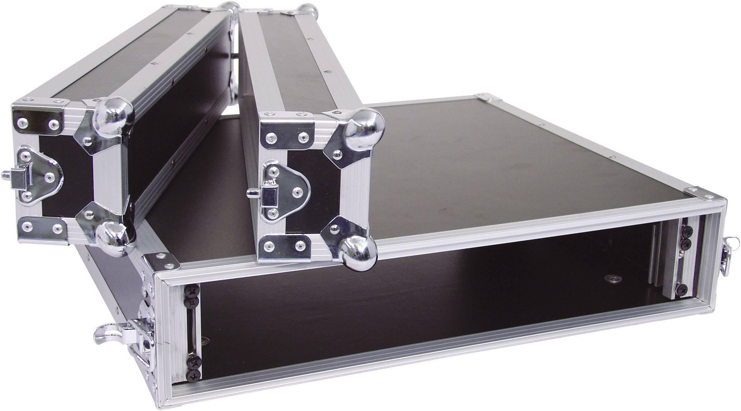 19-palcový rack na zosilňovače 30109782 2 U, drevo