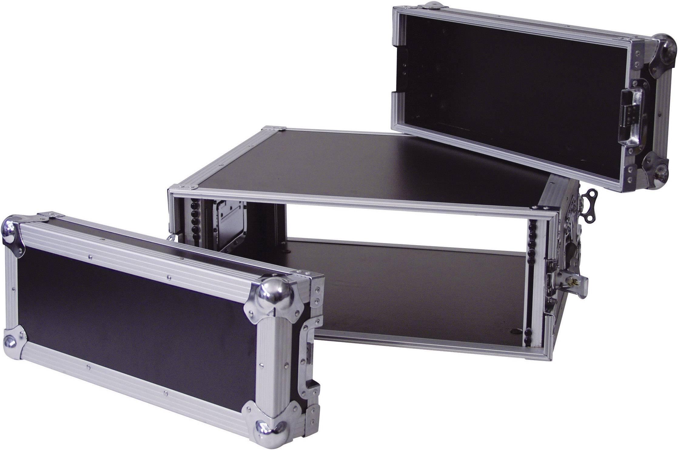 19palcový rack pro zesilovače 30109784 360003, 4 U, dřevo