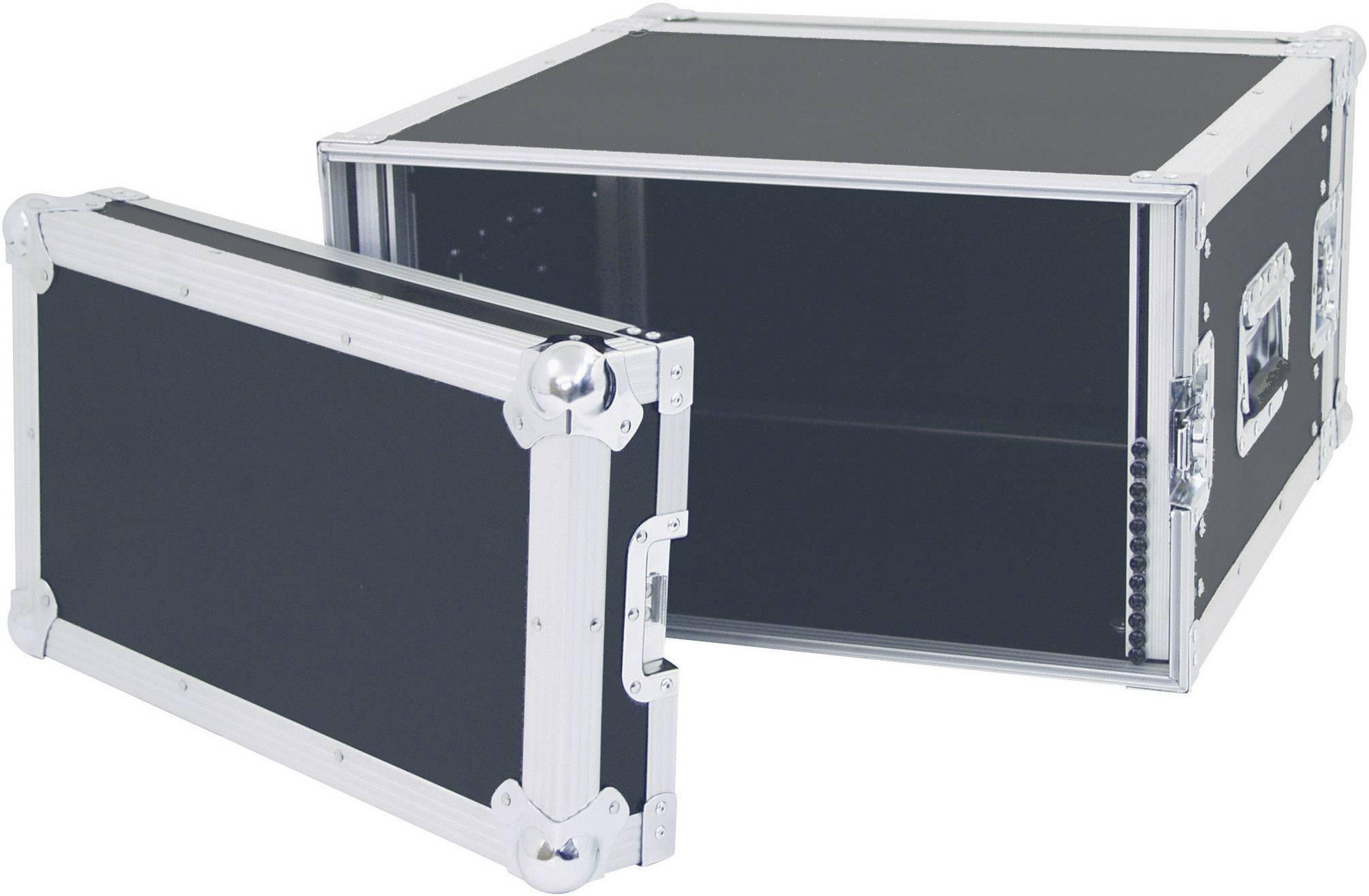 19palcový rack pro zesilovače 30109786 360007, 6 U, dřevo
