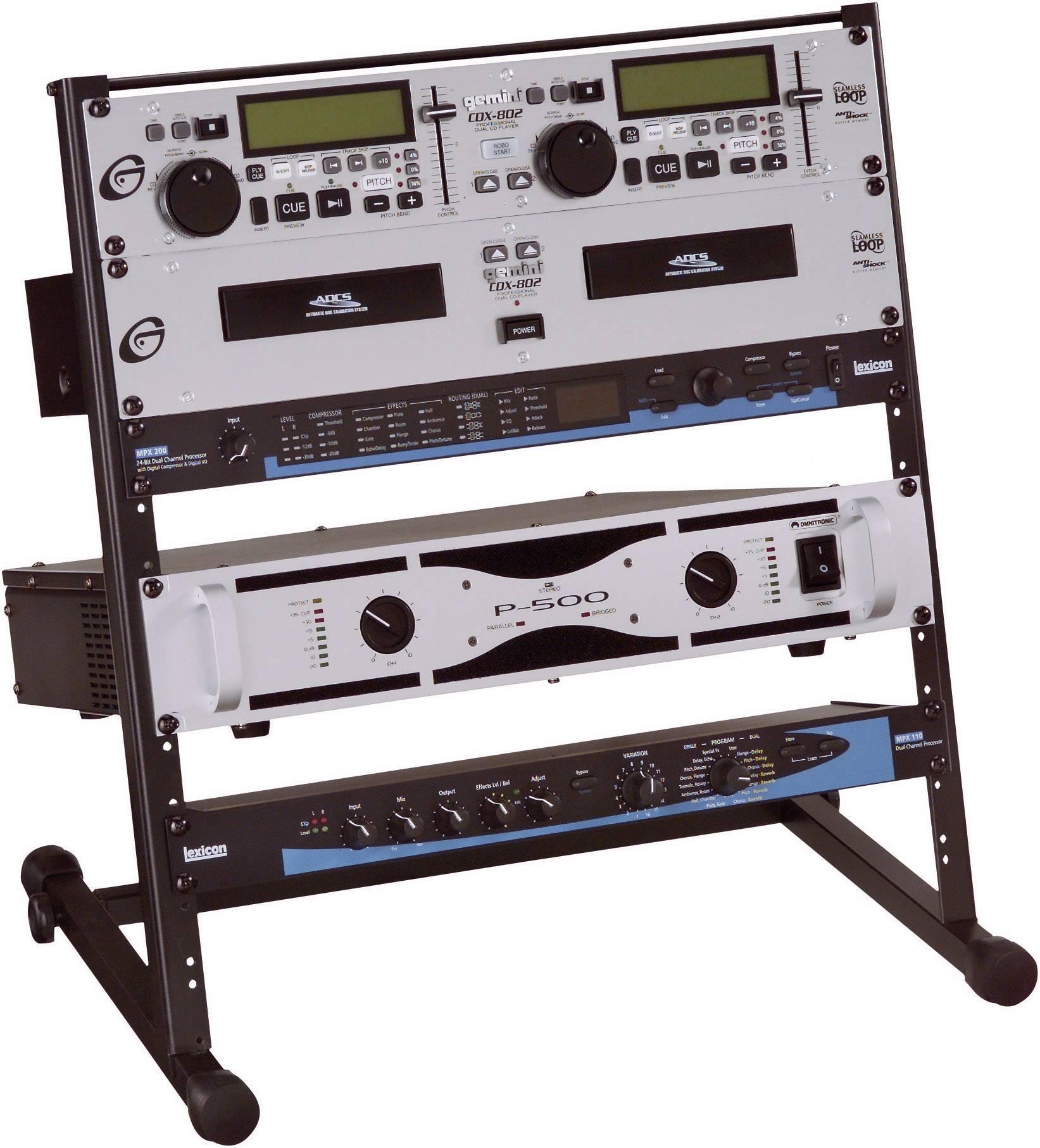 19-palcový rackový stojan na zosilňovače Studio 360773, 12 U, oceľ