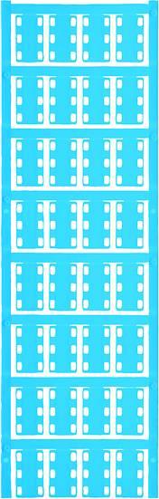 Conductor markers, MultiCard, 23 x 14 mm, Polyamide 66, Colour: Blue Počet markerů: 160 SFX 14/23 NEUTRAL BL V2 Weidmüller Množství: 160 ks