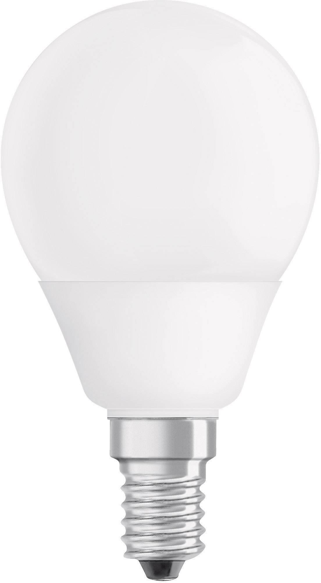 Úsporná žiarovka kvapková Osram Superstar E14, 9 W, teplá biela
