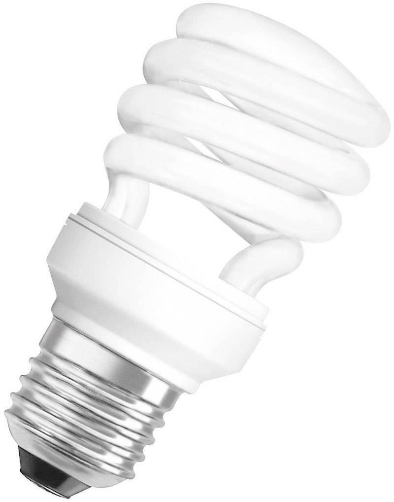 Úsporná žiarovka špirálová Osram Star E27, 11 W, teplá biela
