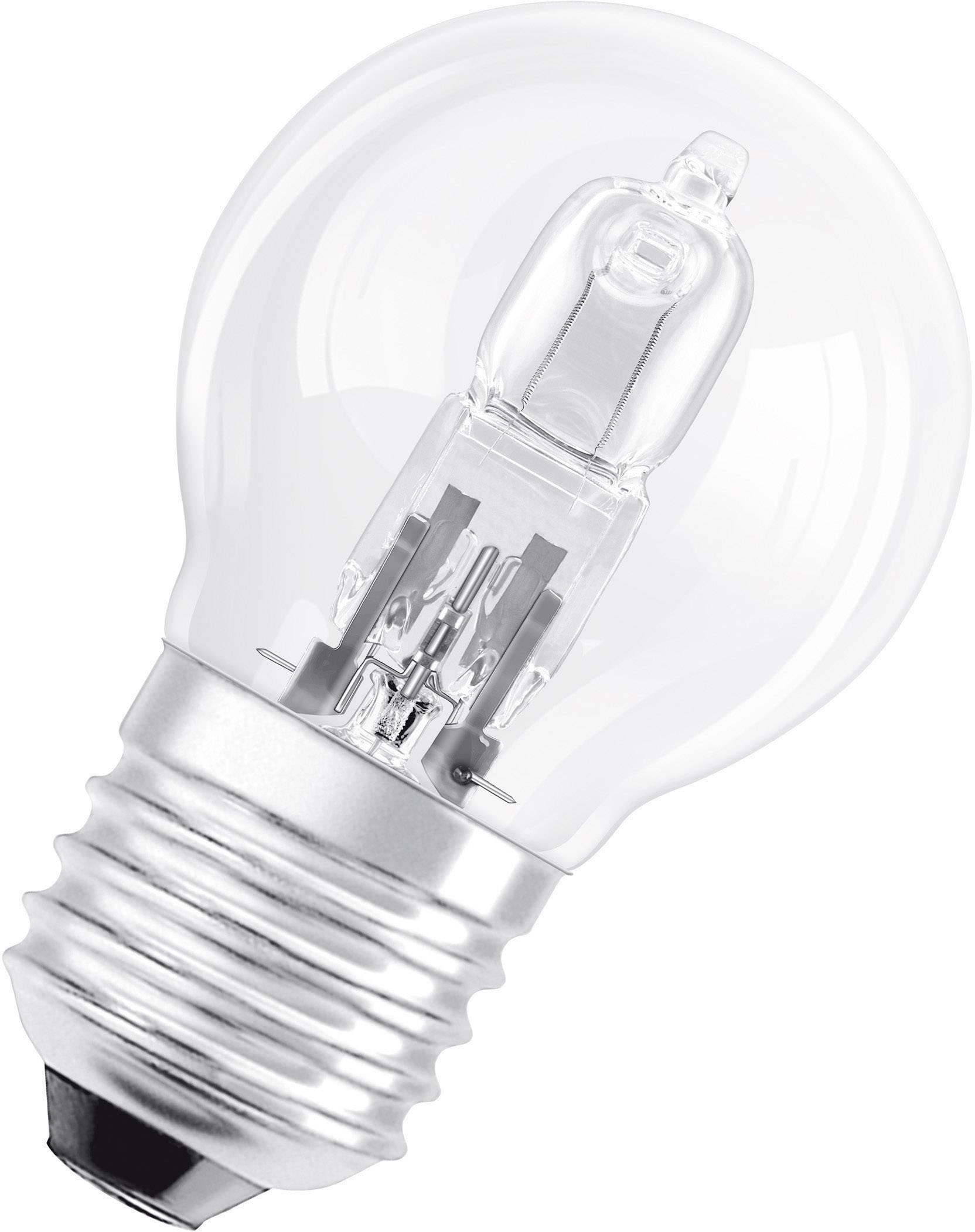 ECO halogénová žiarovka OSRAM 230 V, E27, 46 W, en.trieda: C, teplá biela, 1 ks