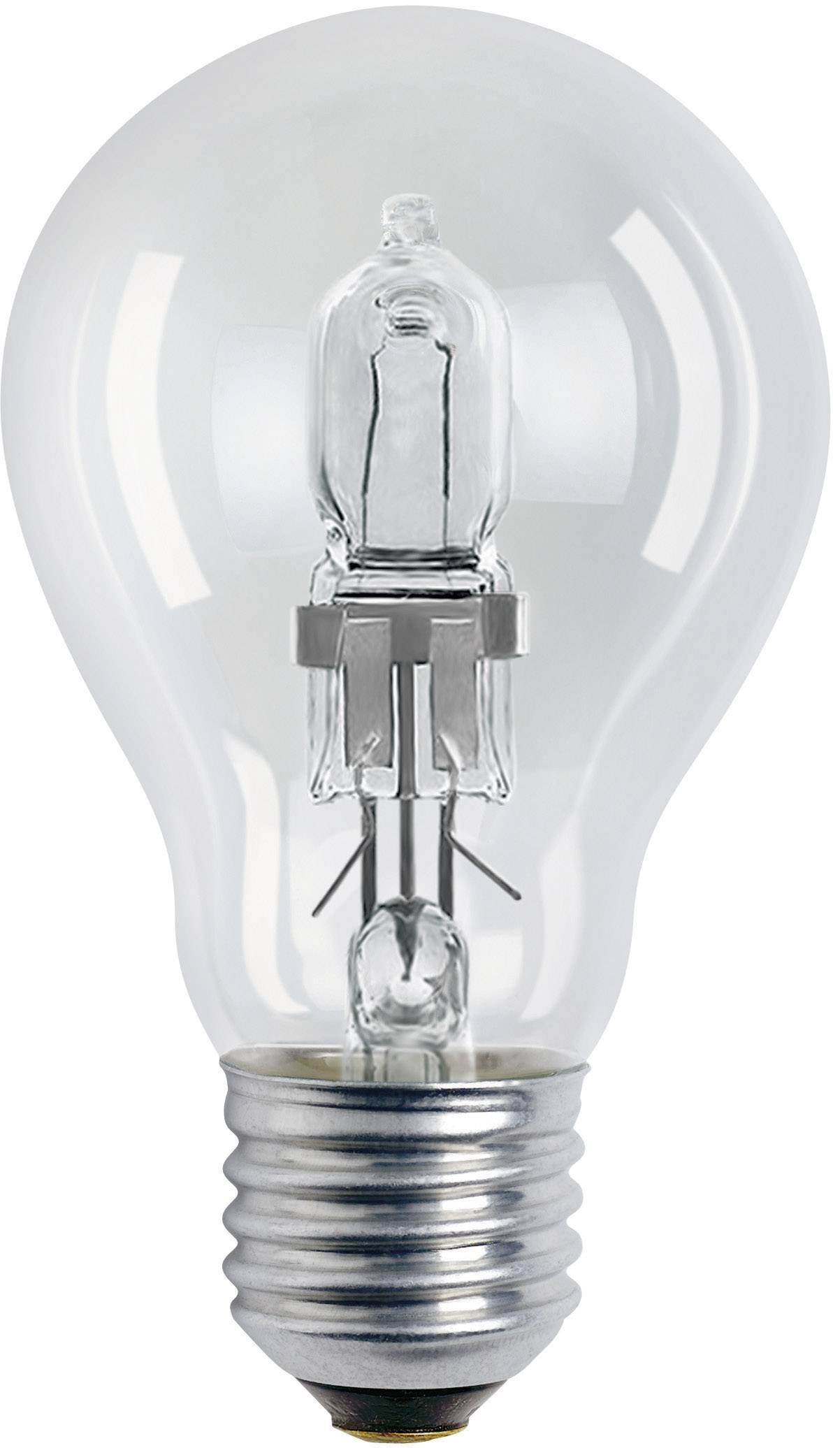 ECO halogénová žiarovka OSRAM 230 V, E27, 30 W, en.trieda: D, teplá biela, 1 ks