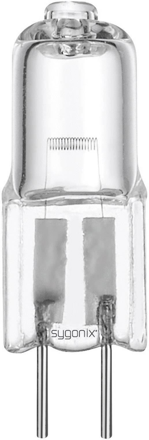 ECO halogénová žiarovka Sygonix 12 V, G4, 20 W, en.trieda: C, teplá biela, 1 ks