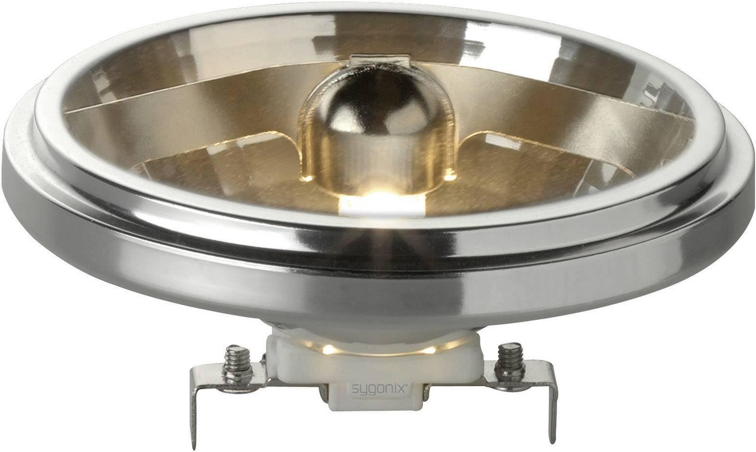 ECO halogénová žiarovka Sygonix 12 V, G53, 50 W, en.trieda: C, teplá biela, 1 ks