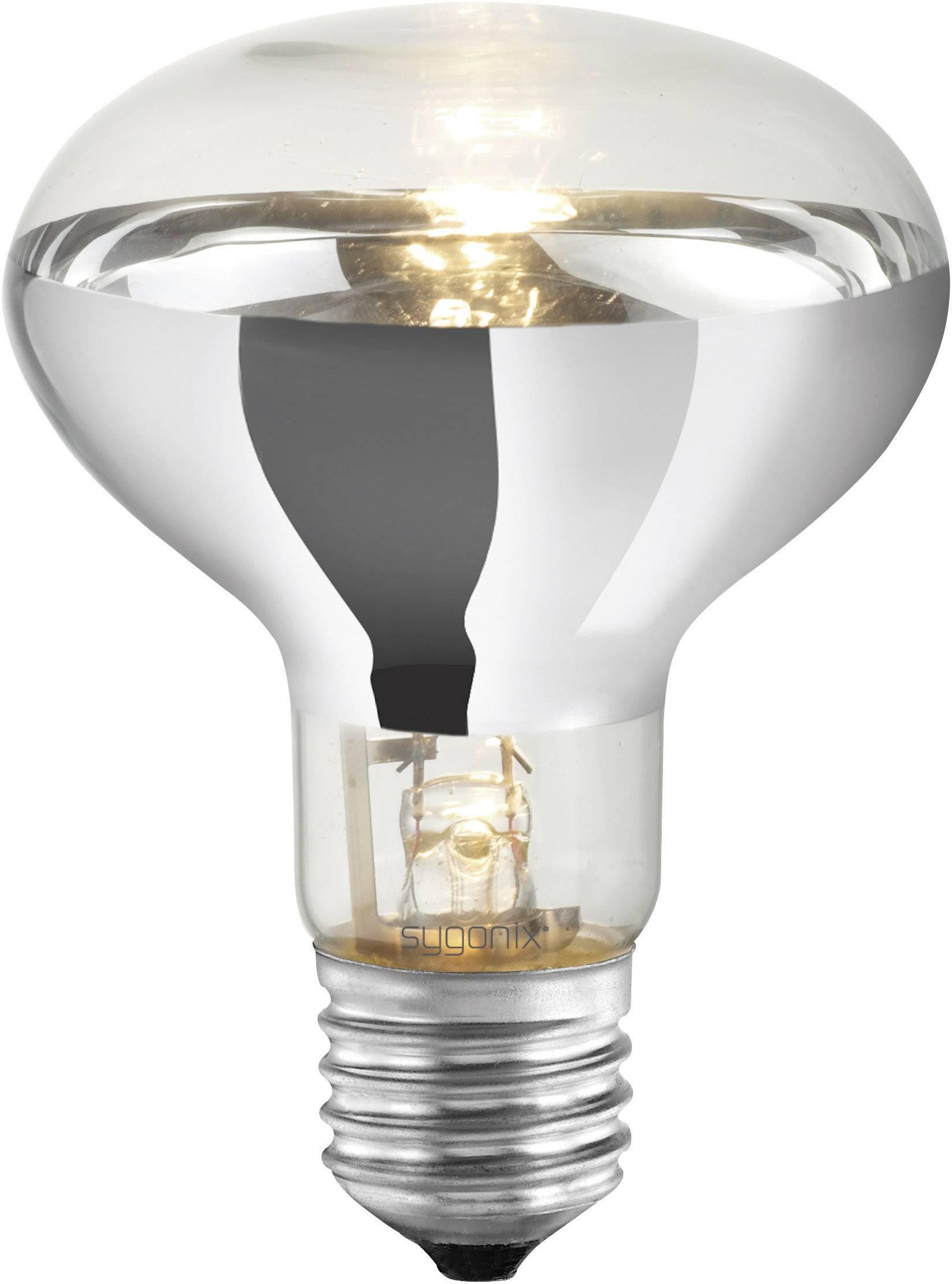 ECO halogénová žiarovka Sygonix 230 V, E27, 42 W, en.trieda: C, teplá biela, 1 ks