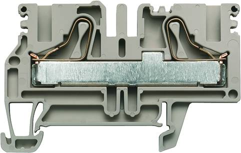 P-series, Feed-through terminal, Rated cross-section: 10 mm², PUSH IN, PDU 6/10 Weidmüller Množství: 50 ks