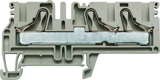 P-series, Feed-through terminal, Rated cross-section: 10 mm², PUSH IN, PDU 6/10/3AN Weidmüller Množství: 50 ks