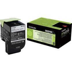 Lexmark toner 802HK CX410 CX510 80C2HK0 originál černá 4000 Seiten