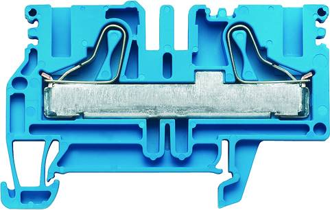 P-series, Feed-through terminal, Rated cross-section: 10 mm², PUSH IN, PDU 6/10 BL Weidmüller Množství: 25 ks