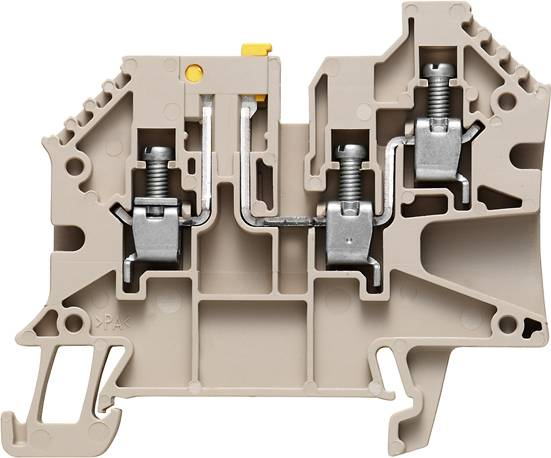 W-Series, Test-disconnect terminal, Rated cross-section: 4 mm², Screw connection WTR 4/ZR Weidmüller Množství: 50 ks