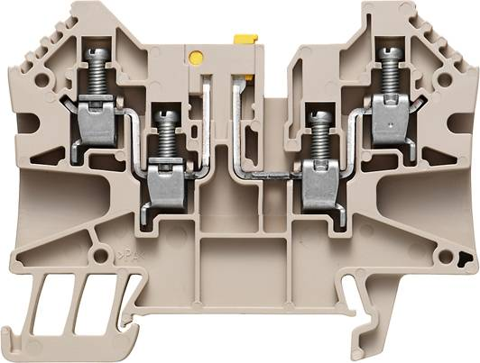 W-Series, Test-disconnect terminal, Rated cross-section: 4 mm², Screw connection WTR 4/ZZ Weidmüller Množství: 50 ks
