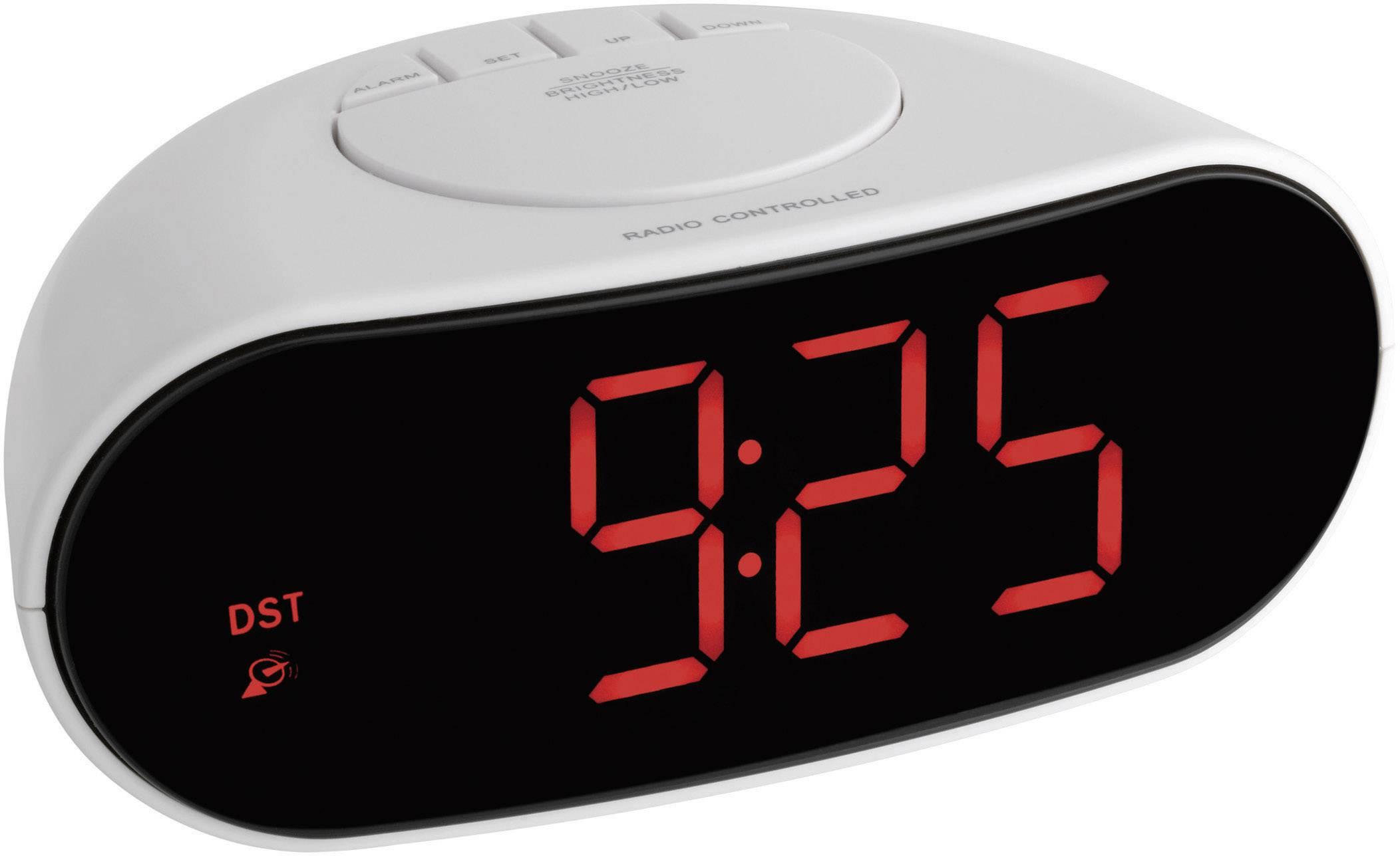 DCF rádiobudík TFA 60.2505, světle šedá