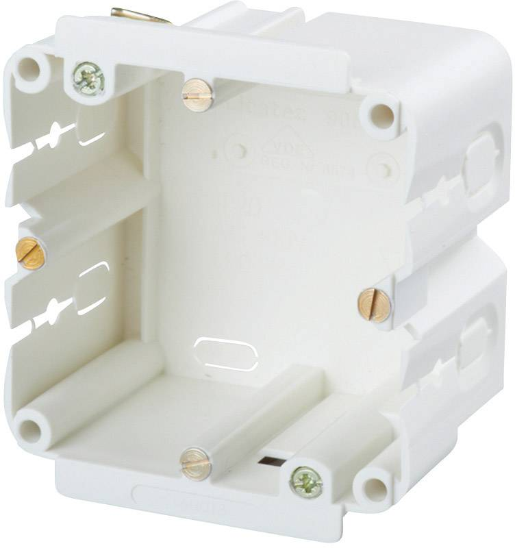 Montážní elektroinstalační krabice Heidemann, 09830, šedá