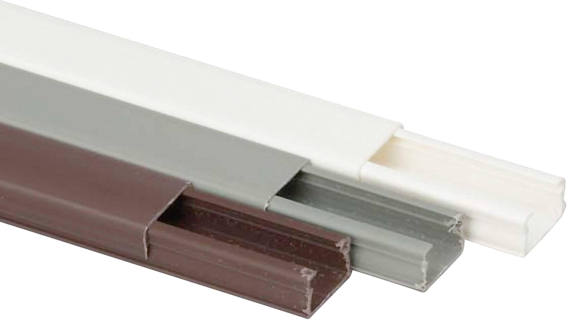 Káblová lišta Heidemann 09936, 1 ks, čisto biela