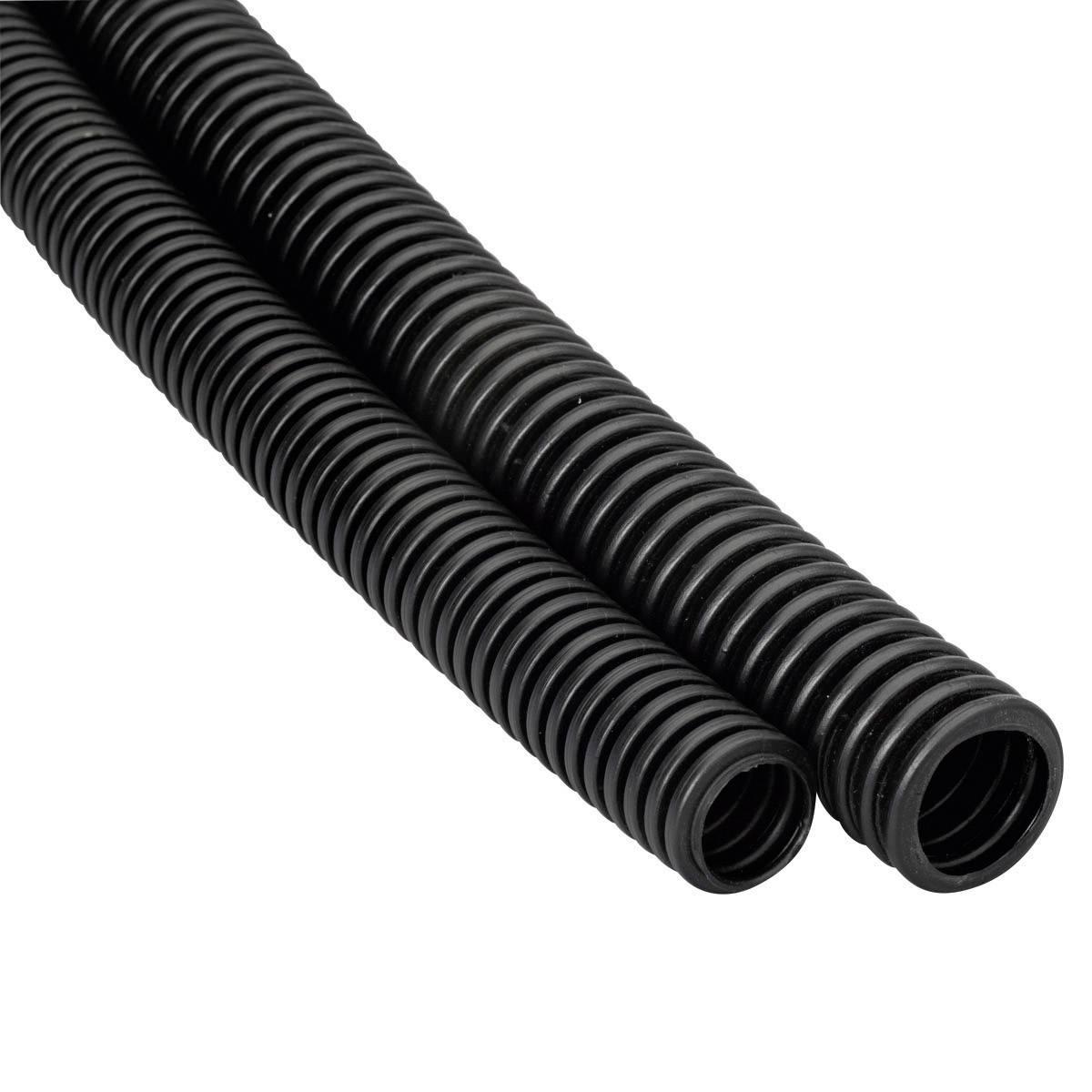 Husí krk Heidemann PE EN20, 13467, 25 m, černá