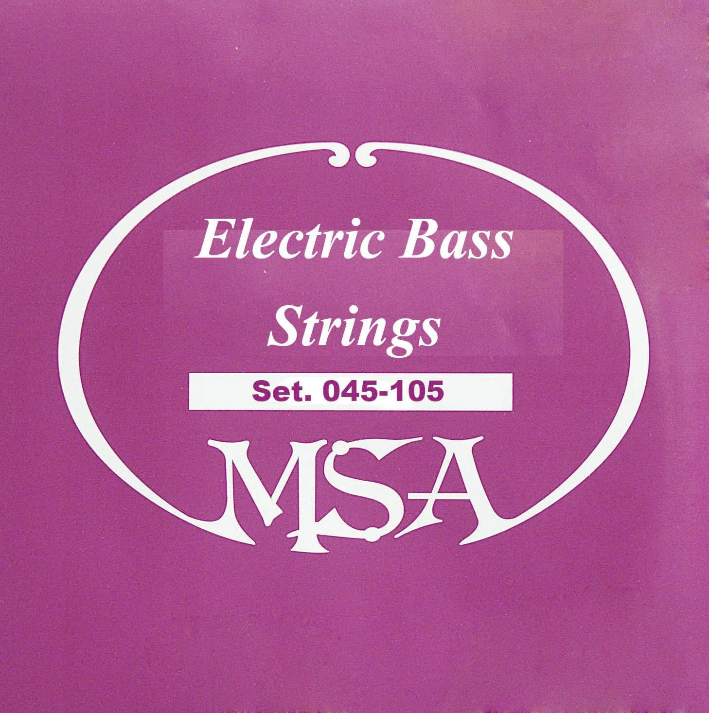 Struny na baskytaru MSA, 045-105