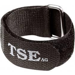 Kabelová spona Stahovací pásky na kabely 371238, sada 5 kusů černá