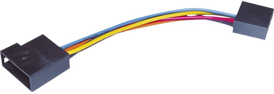 ISO adaptérový kábel pre autorádio AIV Antennen-Adapter vhodné pre autá Audi, Peugeot, Skoda, Suzuki